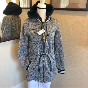Madden Girl  Woven Anorak Jacket